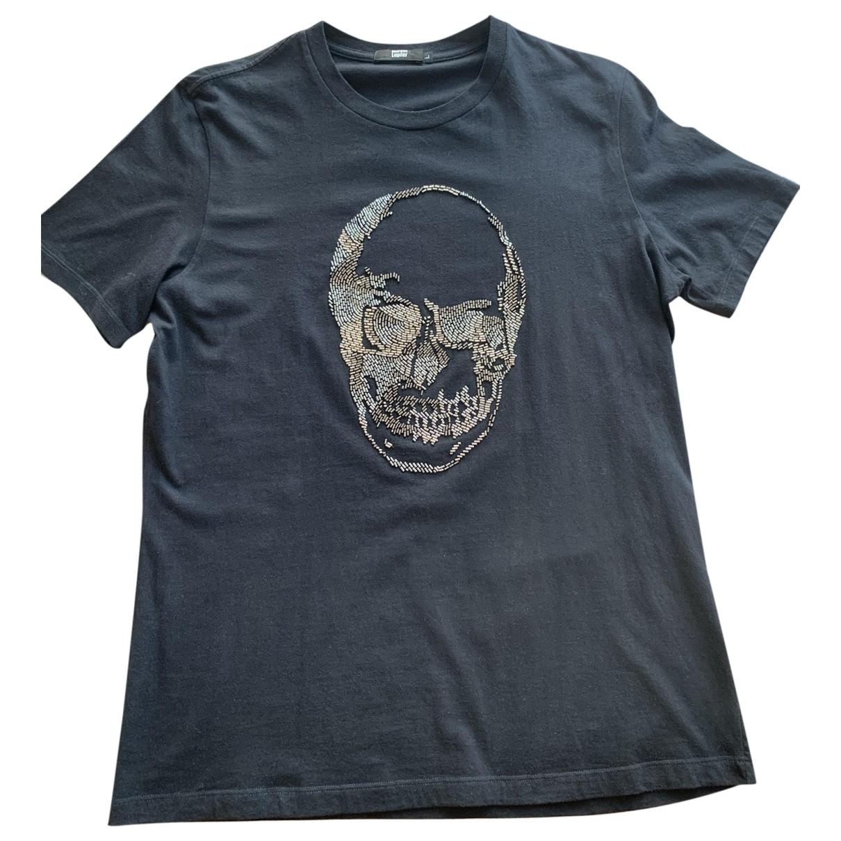 Markus Lupfer \N Black Cotton T-shirts for Men L International