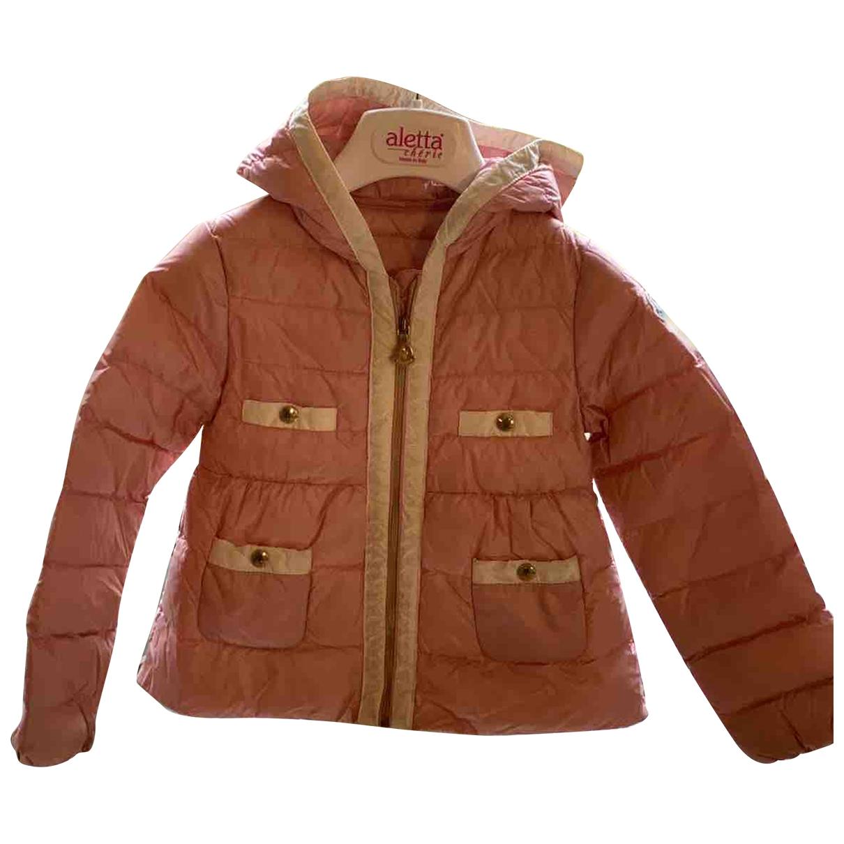 Moncler - Blousons.Manteaux   pour enfant - rose