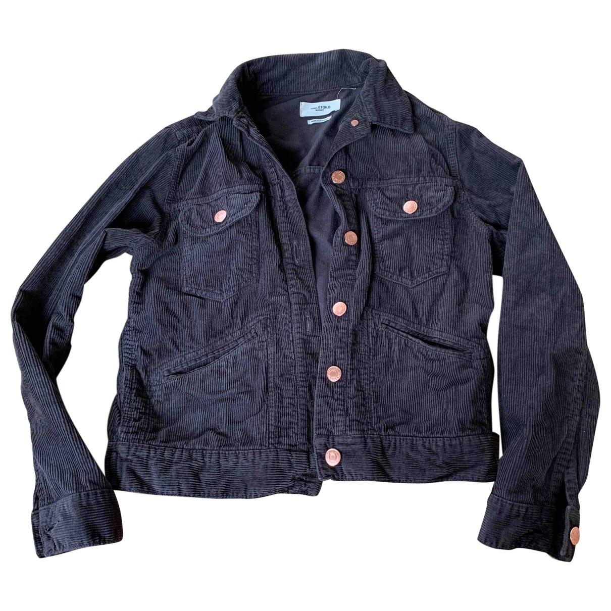 Isabel Marant Etoile \N Grey Cotton jacket for Women 34 FR