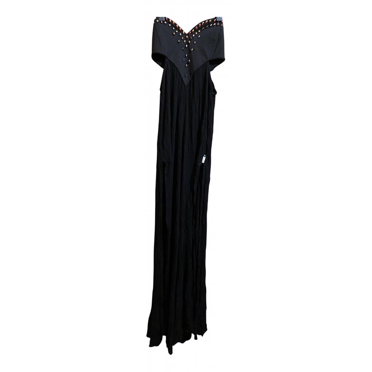 One Teaspoon \N Kleid in  Schwarz Synthetik