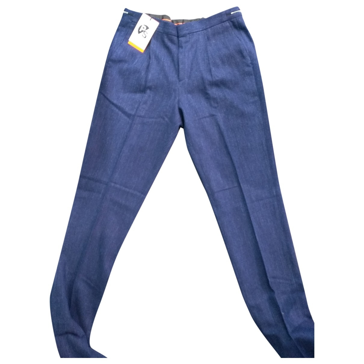 Paul Smith \N Blue Trousers for Men 30 UK - US