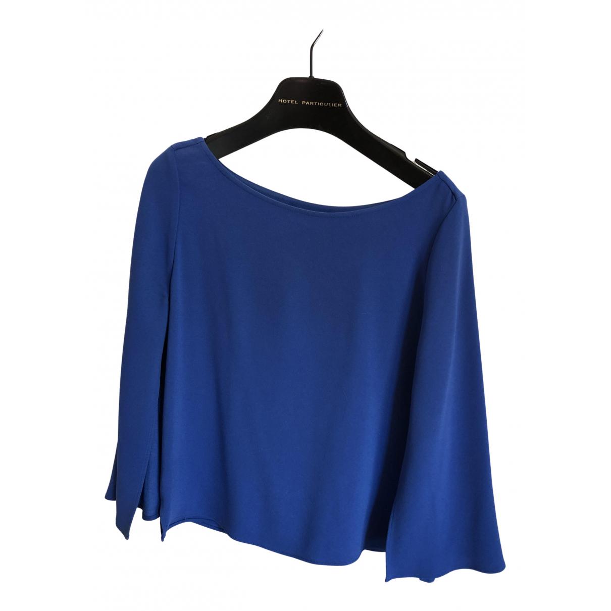 Maje \N Top in  Blau Polyester