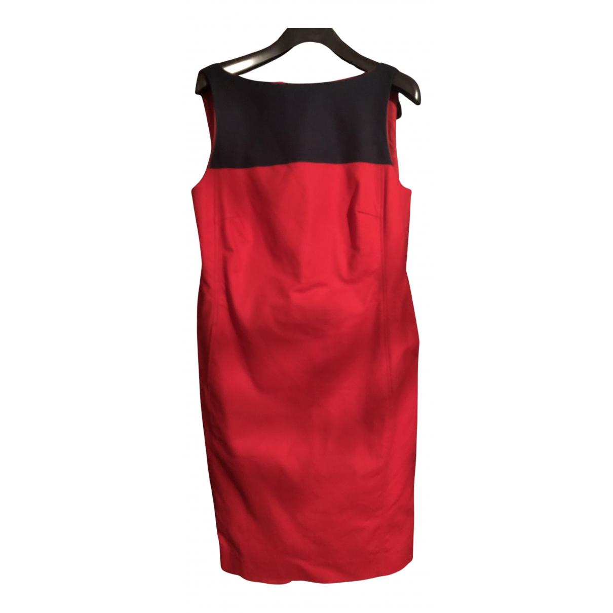 Lauren Ralph Lauren \N Kleid in  Rot Baumwolle