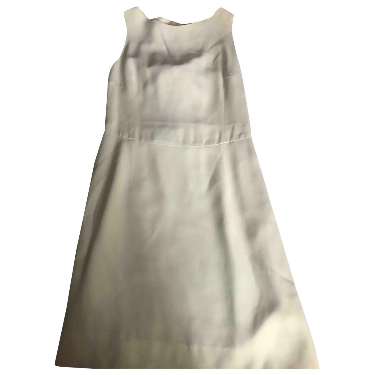 Moschino Love \N Kleid in  Beige Polyester
