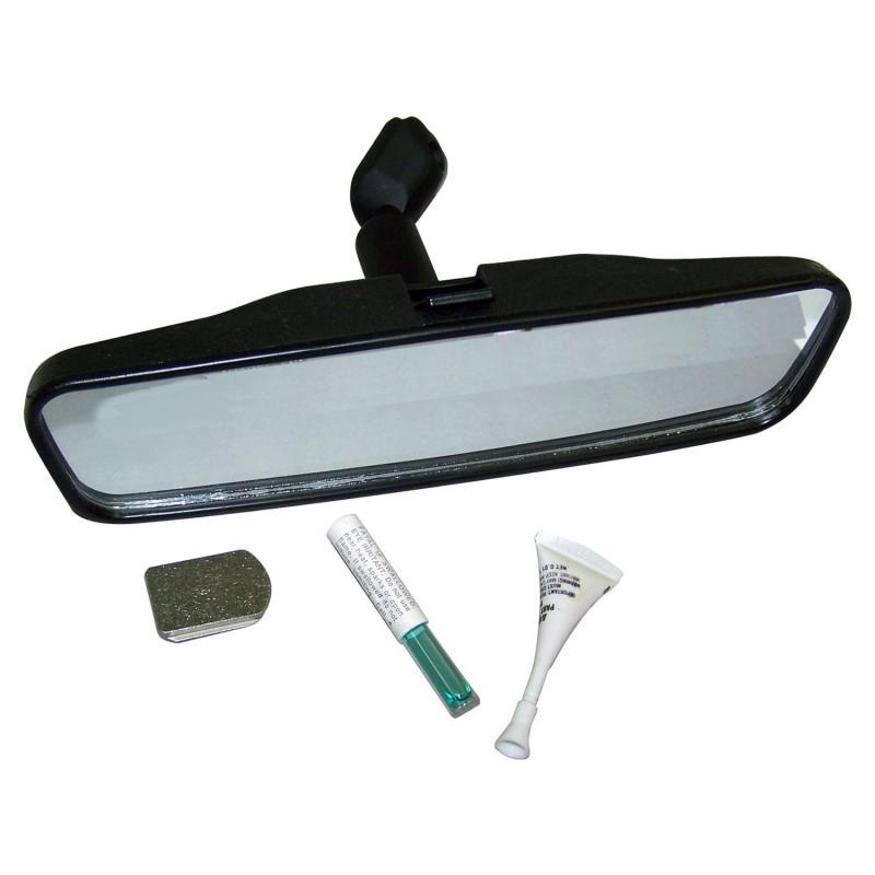 Crown Automotive 5965338K Jeep Replacement Rearview Mirror Kit, Black, 8.5