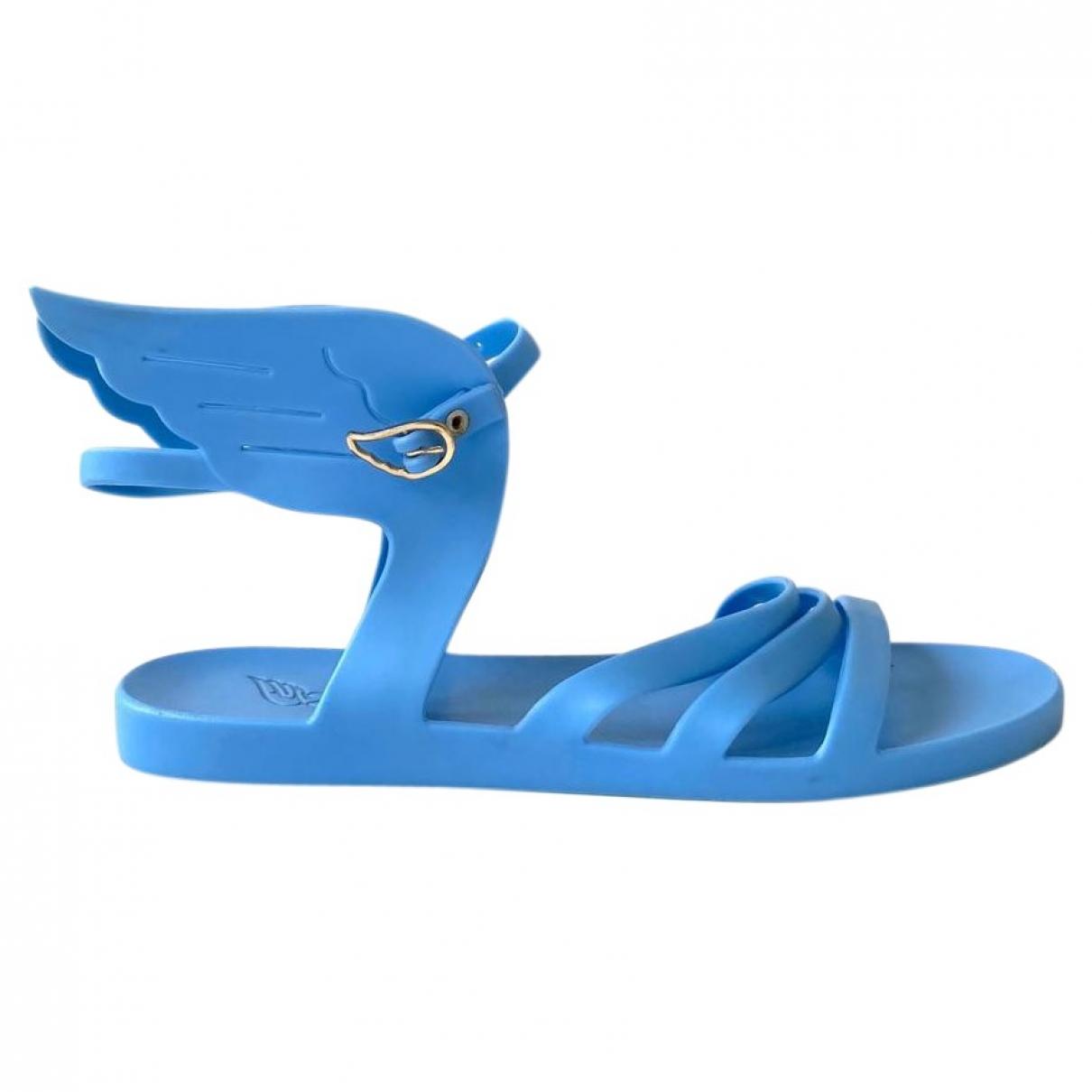 Ancient Greek Sandals - Sandales   pour femme - bleu