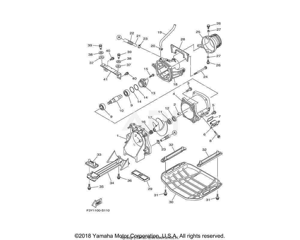 Yamaha OEM 6GA-G6882-00-00 FILTER
