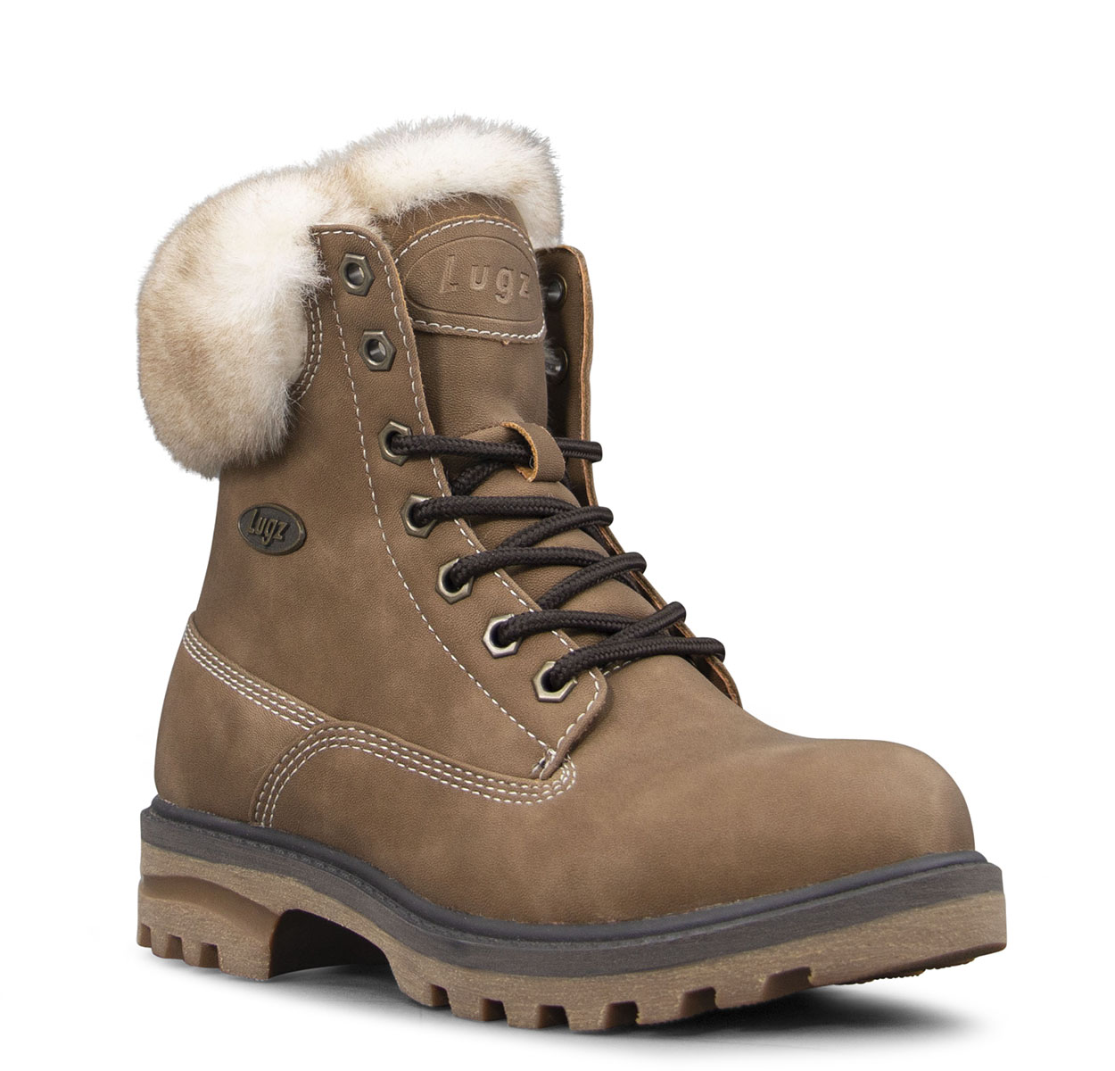 Women's Empire Hi Fur 6-Inch Boot (Choose Your Color: GUMNUT/CREAM/BARK, Choose Your Size: 10.0)