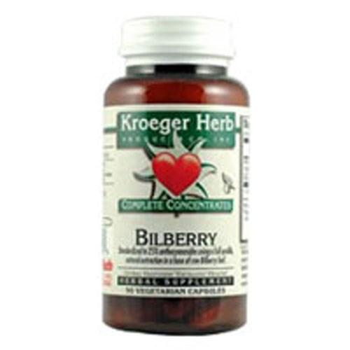 Bilberry 25% 90 Cap by Kroeger Herb