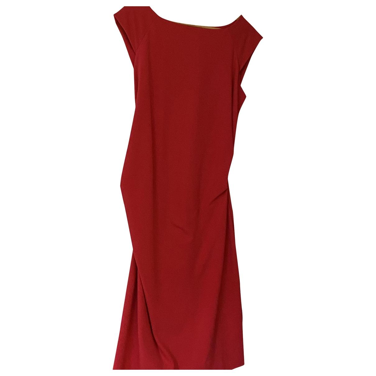 Diane Von Furstenberg \N Kleid in  Rosa Viskose