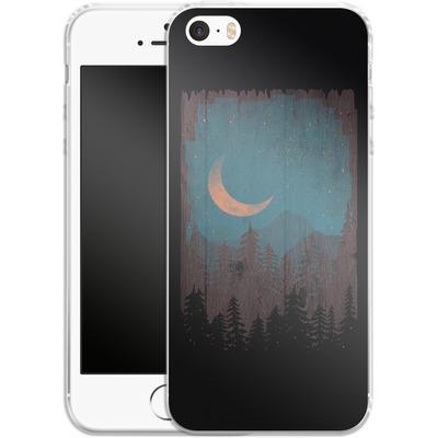 Apple iPhone 5s Silikon Handyhuelle - Those Summer Nights von ND Tank