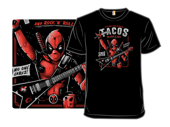 The Mercenary Rockstar T Shirt