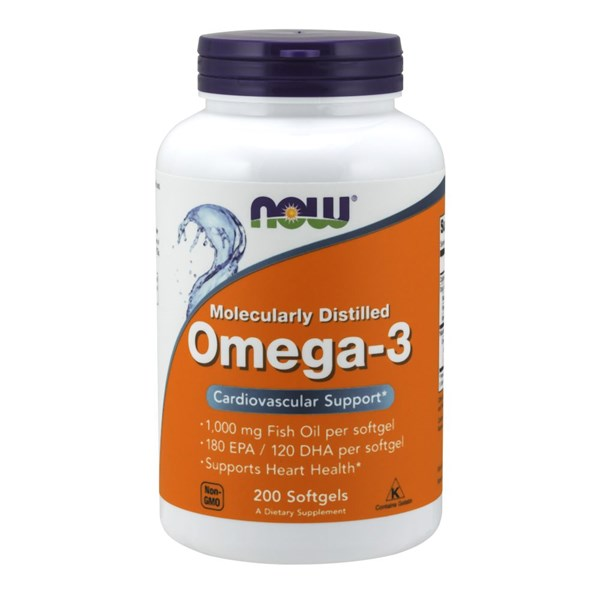 Omega-3 200 Sgels by Now Foods