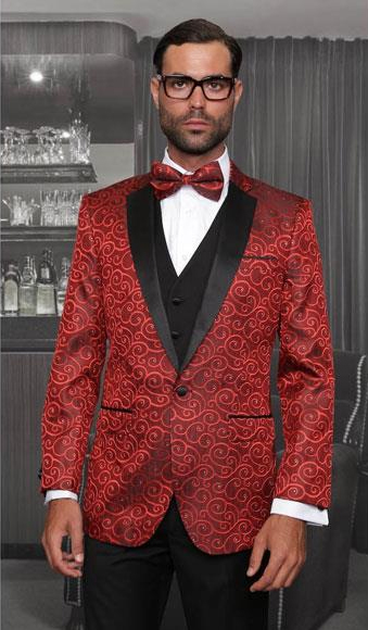 One Button Single Breasted Three Piece New Fashion Tuxedo Suits