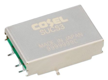 Cosel 3W Isolated DC-DC Converter Surface Mount, Voltage in 9 → 18 V dc, Voltage out 12V dc
