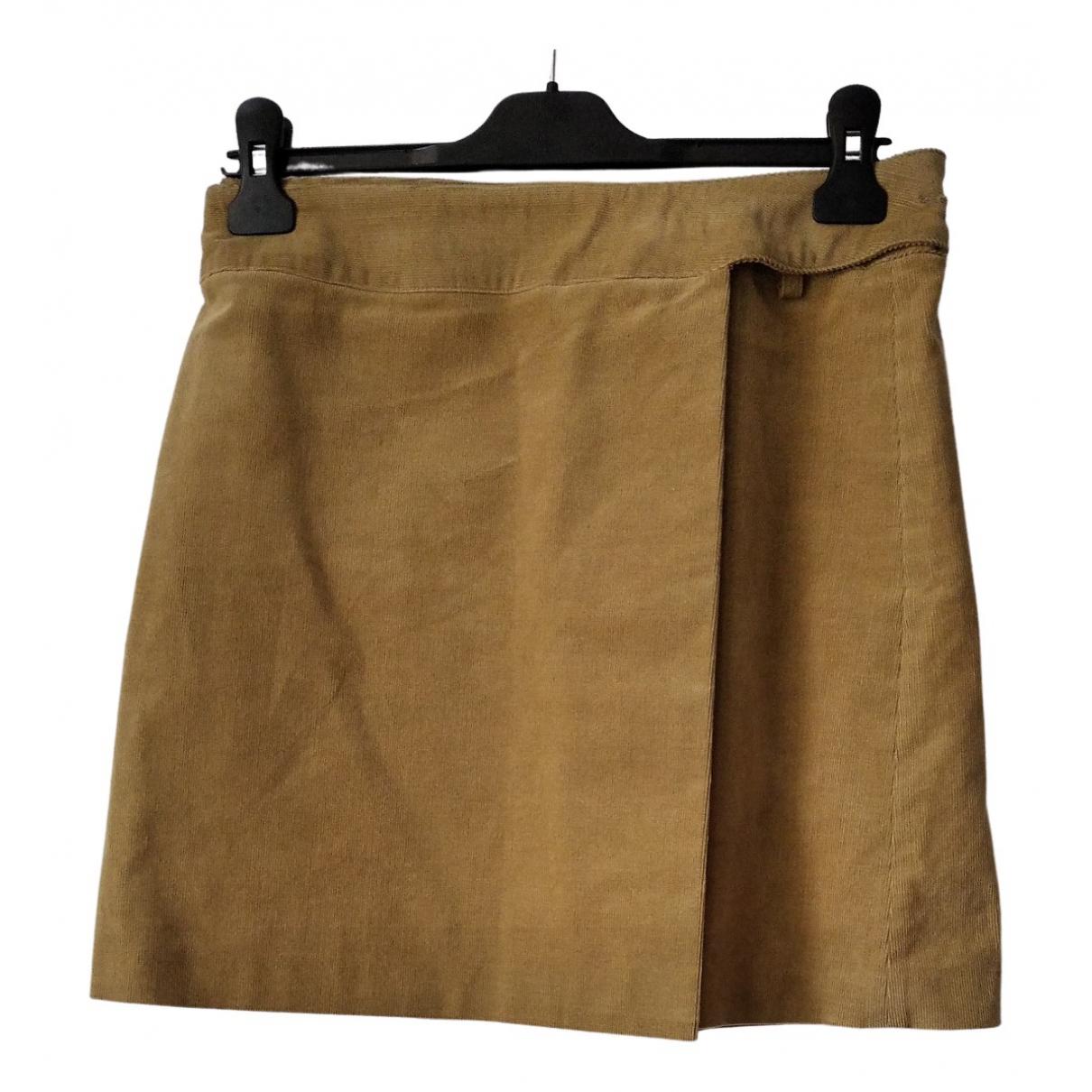Mini falda de Terciopelo Non Signe / Unsigned