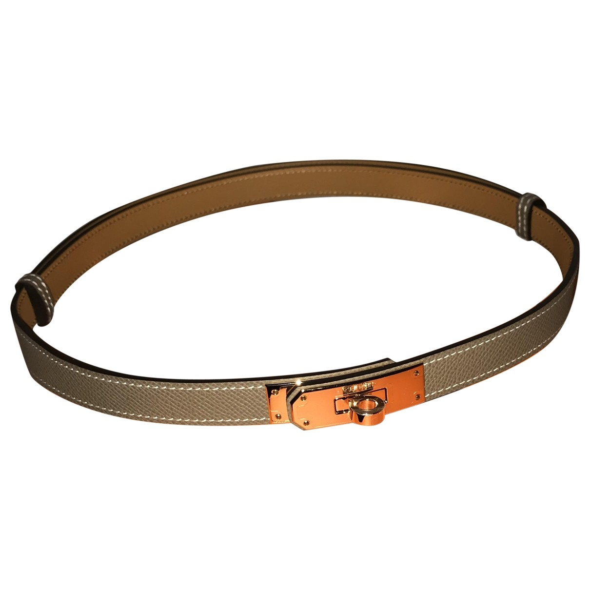 Hermès Kelly Multicolour Leather belt for Women 70 cm