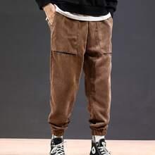 Guys Pocket Front Corduroy Pants