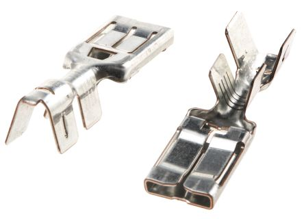 TE Connectivity PRONER .315 Series Crimp Receptacle, 8 x 1mm, 3mm² to 6mm², 12AWG to 10AWG (25)