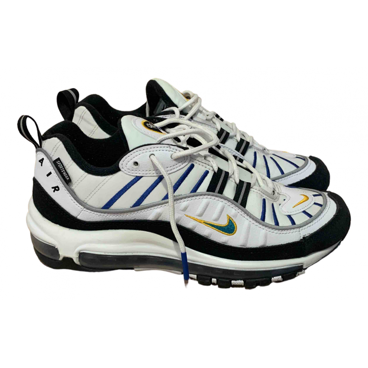 Nike - Baskets Air Max 98 pour femme en toile - blanc