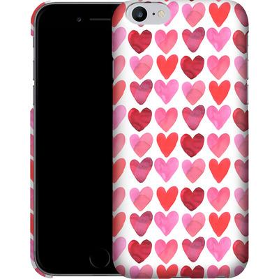 Apple iPhone 6 Plus Smartphone Huelle - Heart Watercolour von Amy Sia