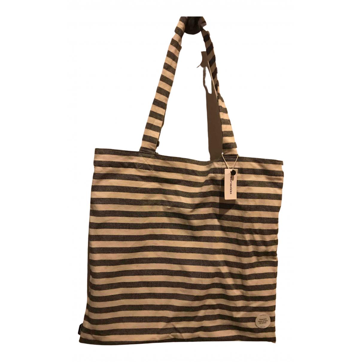 Marimekko \N Handtasche in  Bunt Baumwolle