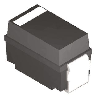 DiodesZetex Diodes Inc Switching Diode, 1A 1000V, 2-Pin SMA RS1M-13-F (50)
