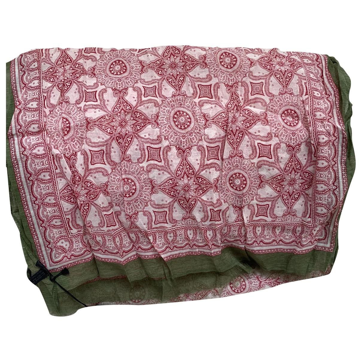 Franco Ferrari \N Pink Cotton scarf for Women \N