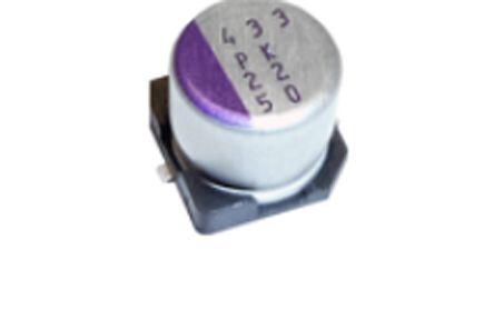 Panasonic 22μF Polymer Capacitor 50V dc, Surface Mount - 50SVPK22M (1000)