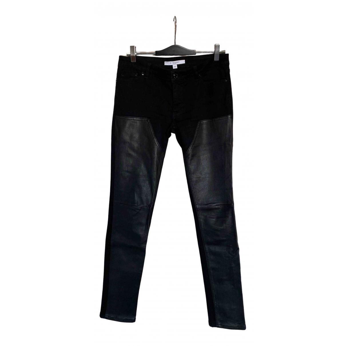 Givenchy - Jean   pour femme en coton - noir