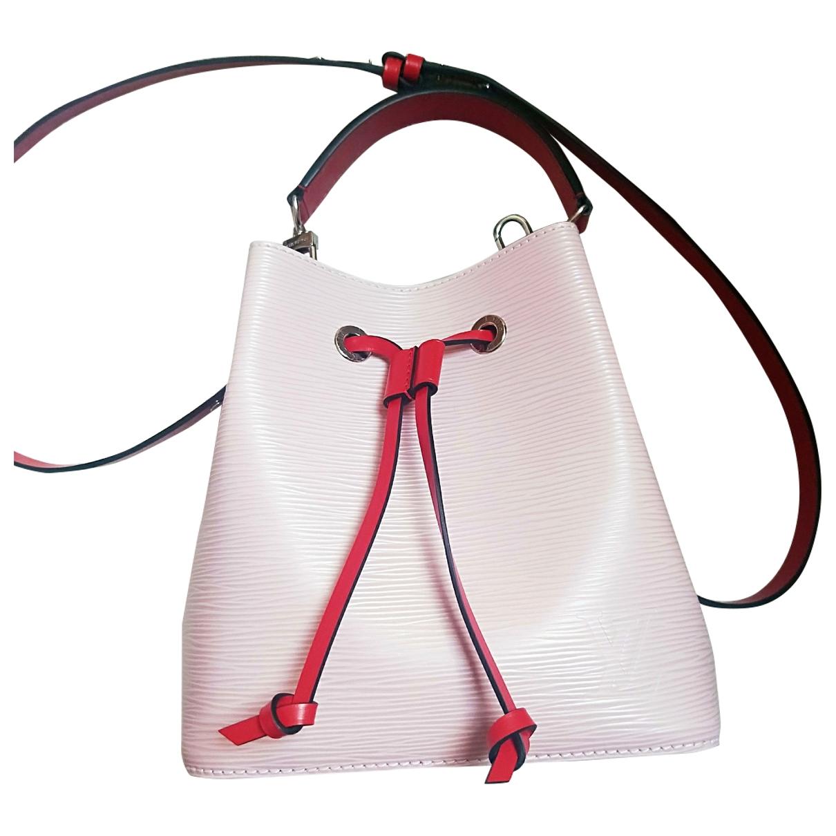 Louis Vuitton NéoNoé Pink Leather handbag for Women \N