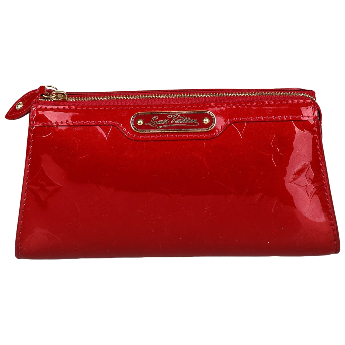 Louis Vuitton \N Clutch in  Rot Lackleder