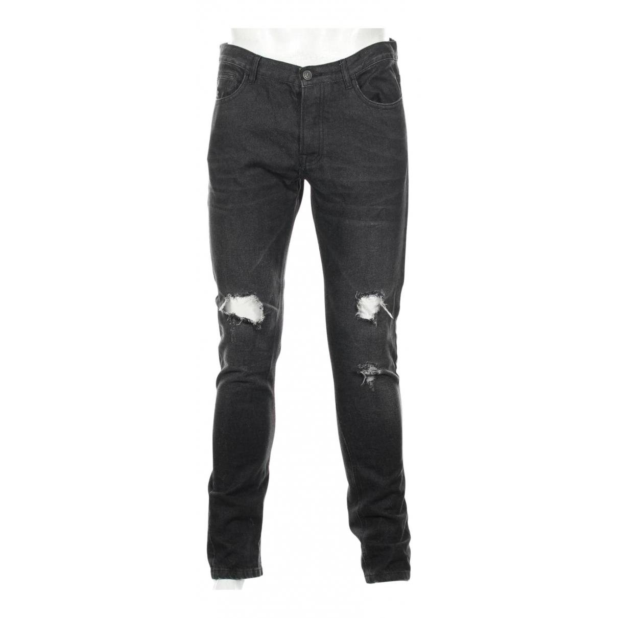 The Kooples N Black Cotton - elasthane Jeans for Men 32 US