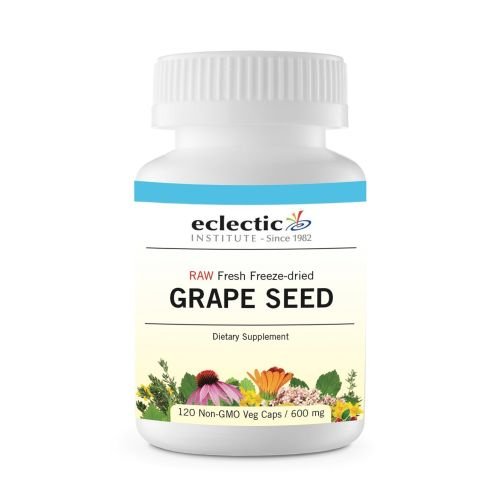Grape Seed 120 Caps by Eclectic Institute Inc