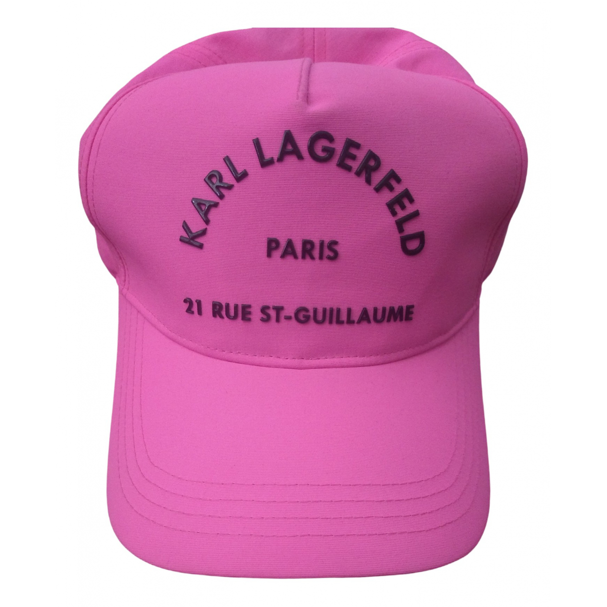 Karl Lagerfeld \N Pink Cloth hat for Women M International
