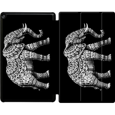 Amazon Fire HD 10 (2017) Tablet Smart Case - Ornate Elephant 3.0 von BIOWORKZ