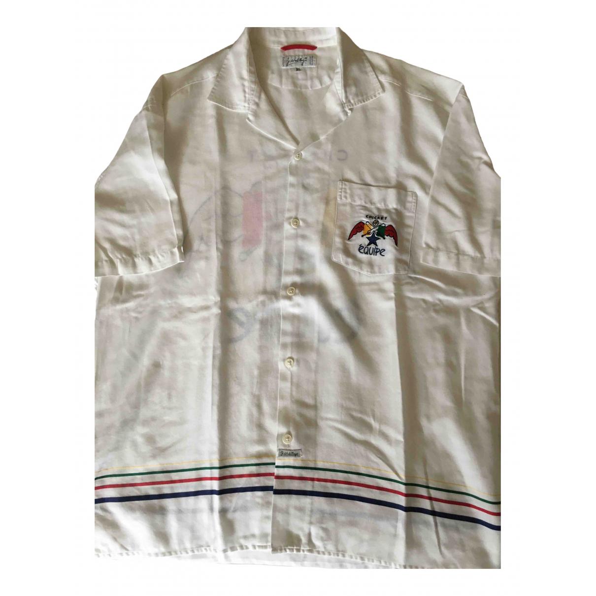 Jc De Castelbajac - Chemises   pour homme en coton - blanc