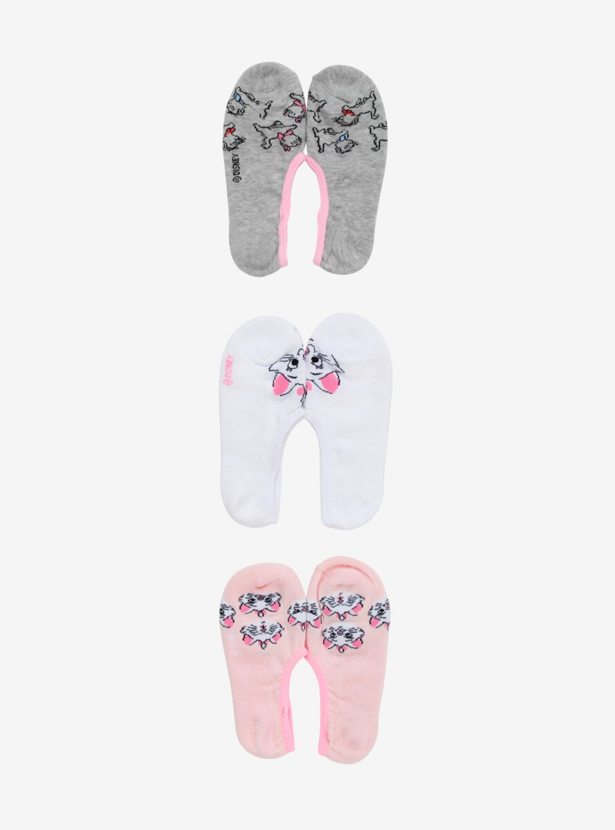 Disney The Aristocats Marie No-Show Sock Pack
