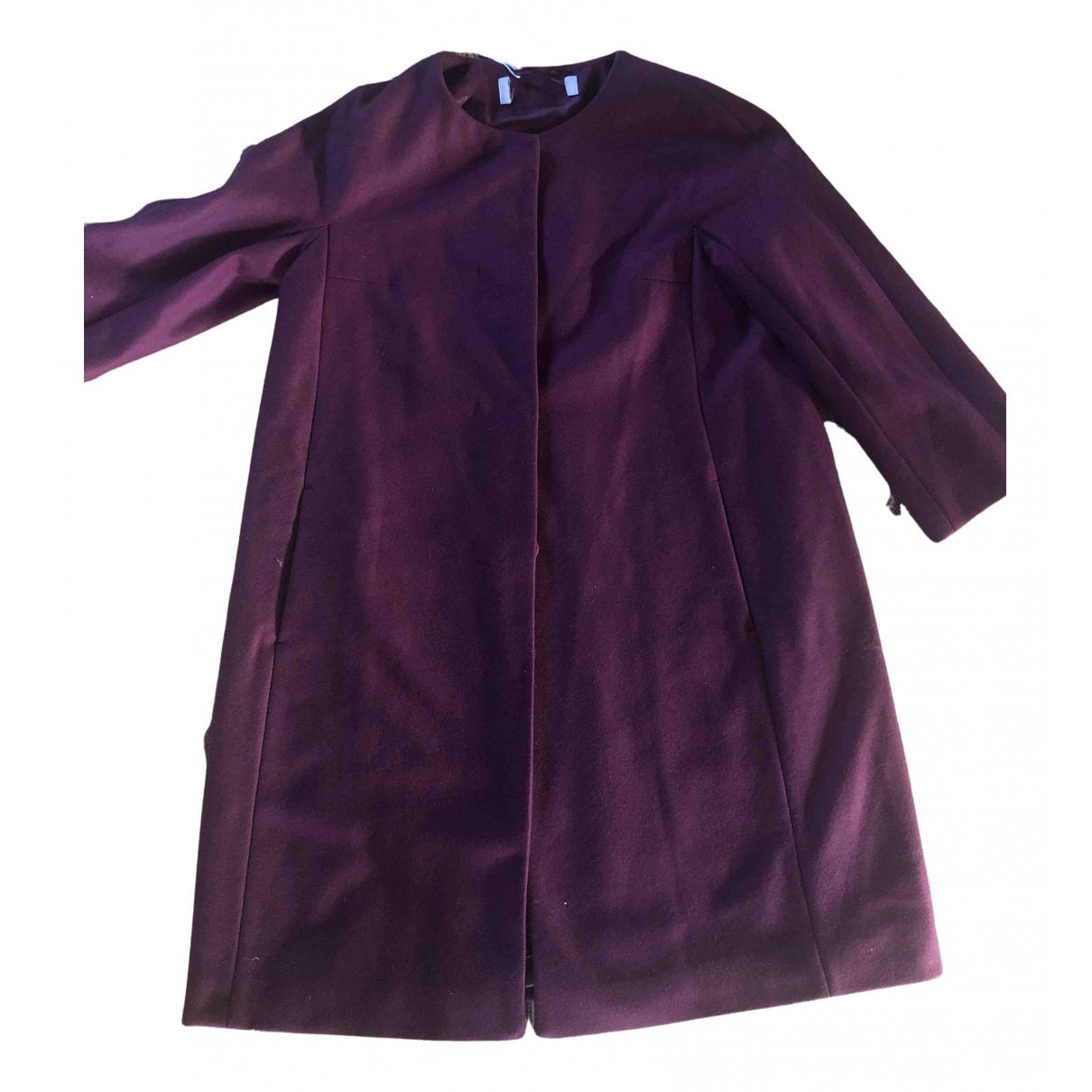 Max & Co N Burgundy Wool coat for Women 40 IT