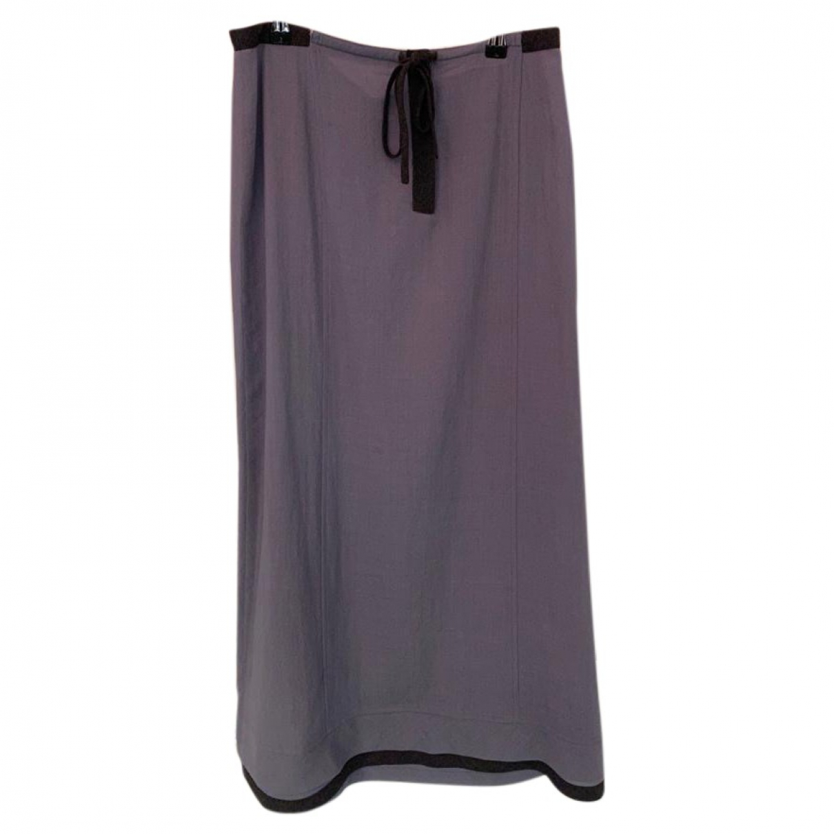 Miu Miu \N Blue Wool skirt for Women 44 IT