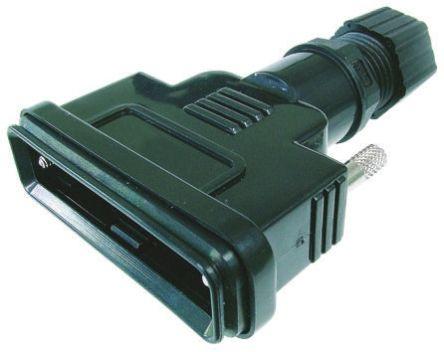 ASSMANN WSW PBT D-sub Connector Backshell, 9 Way