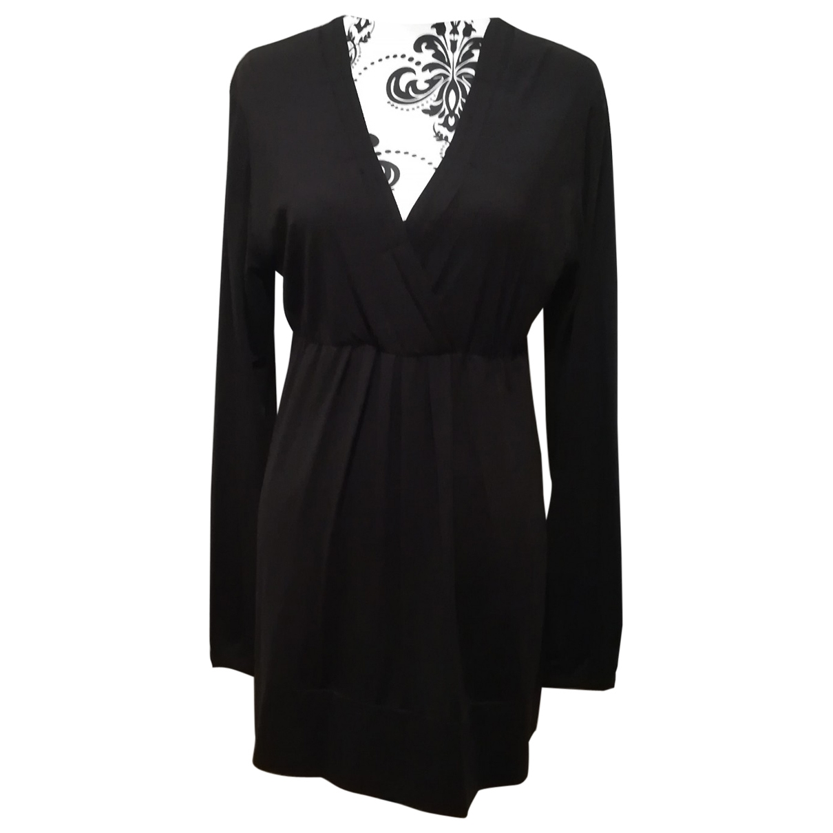 Non Signe / Unsigned \N Kleid in  Braun Synthetik