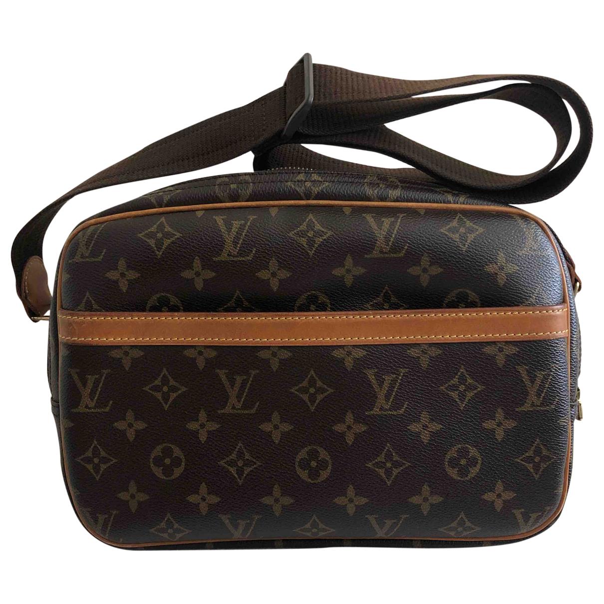 Louis Vuitton Nile Handtasche in  Kamel Leinen