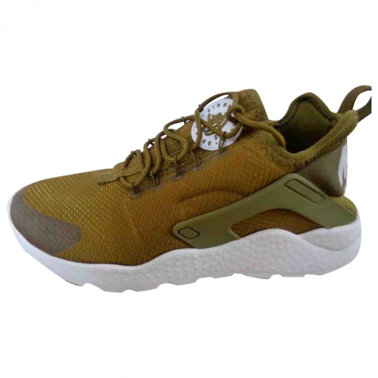 Nike Huarache Sneakers in  Khaki Polyester