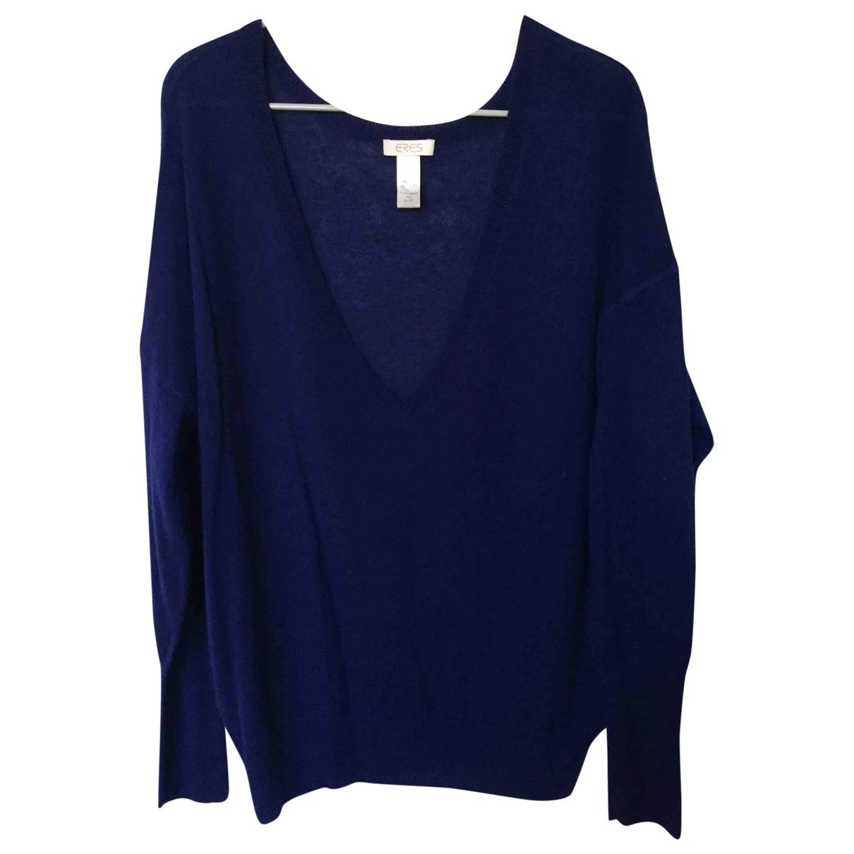 Eres \N Pullover in  Blau Kaschmir