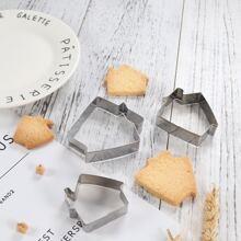 3 Stuecke Keksform mit Pferd Design