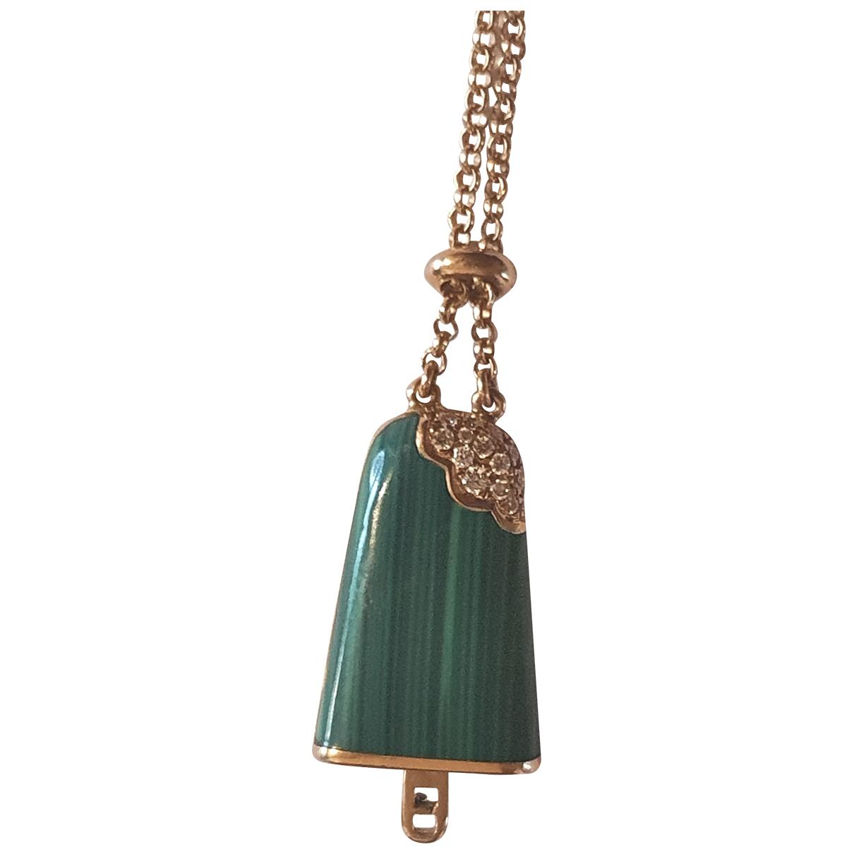 Bvlgari - Bracelet   pour femme en or rose - vert