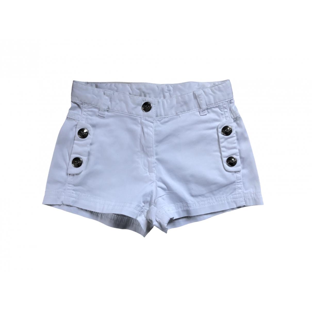 Baby Dior \N Shorts in  Weiss Baumwolle
