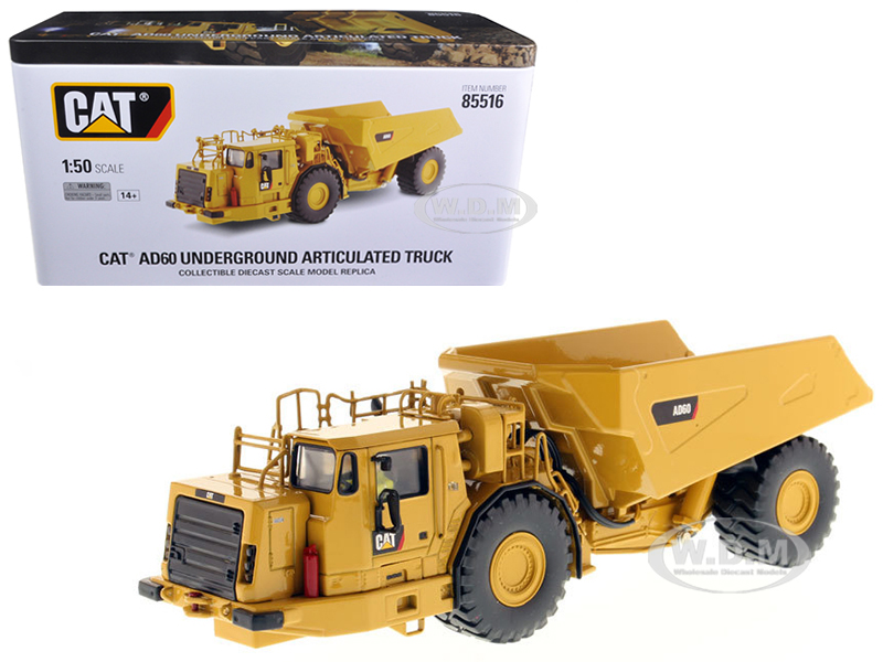 CAT Caterpillar AD60 Articulated Underground Truck with Operator