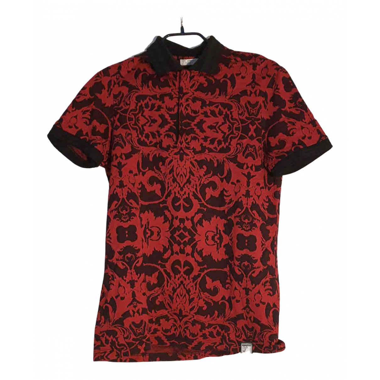 Versace \N Poloshirts in  Rot Baumwolle